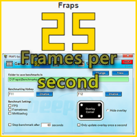 FRAPS - Frames per second