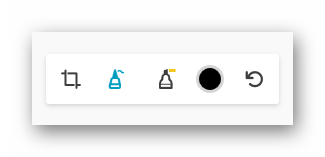 Инструменты для редактирования скриншота в Мозилле