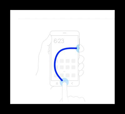 Удержание кнопок «Питания и «Домой» на Самсунге для скриншотов