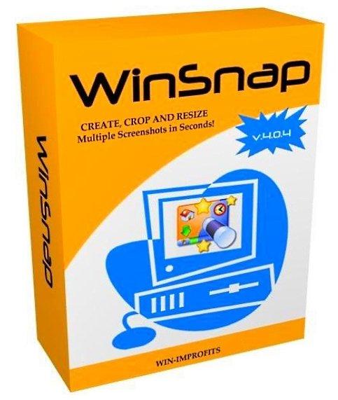 Программа для скриншотов ВинСнап